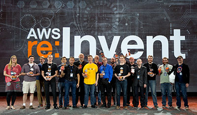 NetflixOSS Cloud Prize winners at AWS re:invent 2013